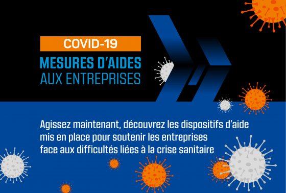 COVID 19 Mesures d'aides aux entreprises