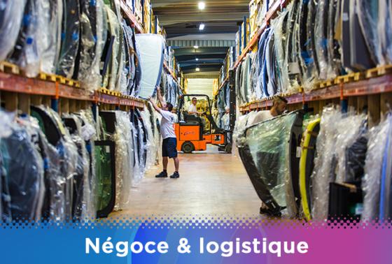 négoce logistique - métier VSF